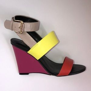 Artelier Nicole Miller Color Block Wedge